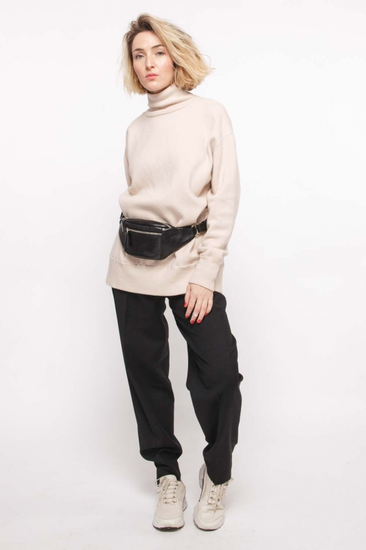 Компактная поясная сумка CODE: UNIK «Чёрная»