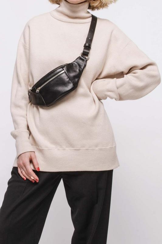 Компактная поясная сумка CODE: UNIK «Колор Блок»