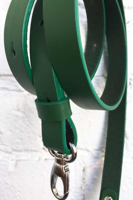 Ремни для «Бардачка» и «Вриланд» (изумрудно-зеленые)